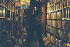 Library Kiss #3…happy Valentine's Day book lovers :)