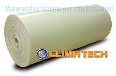 Materassino ISOLENE adesivo per  canalizzazioni spessore 6mm rotolo da 75mq. materiale Polietilene espanso reticolato (chimico) a cellule chiuse, colore verde chiaro, termoisolante, rotolo 50m x h.1,5 = mq.75, per rivestimento esterno di canali in lamiera per distribuzione aria condizionata. Marcato CE (CPR) - Standard europeo (PEF) EN 14313:2009. Euro CLASSE B-s2d0, Bl-s1d0