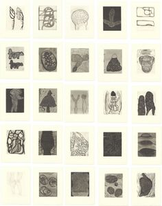 Terry Winters Field Notes 1992 - Some of my favorite Terry Winters pieces. Art Alevel, Artist Sketchbook, Black White Art, Monochrom, Mark Making, Book Design, Painting & Drawing, Printmaking, Book Art
