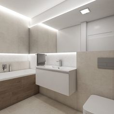 Moderní koupelna BAY - Pohled od vstupu