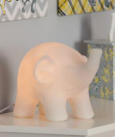 Lil' Peanut Elephant Lamp