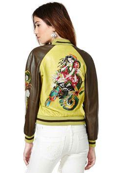 Khaleesi Leather Jacket