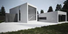 Фото — Volumes of concrete — Architecture