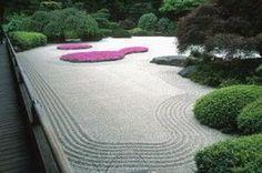 Beau Japanese Sand Garden