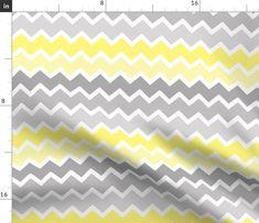 Double Gauze Fabric, Cotton Twill Fabric, Fleece Fabric, Satin Fabric, Grey Ombre, Grey Chevron, Gray, Chevron Fabric, Zig Zag Pattern