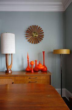California Mid Century Styled Bungalow - Scandinavian - Dining Room - Images by deedee9:14 | Wayfair