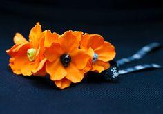 Sugar Skull Dog Collar ,Orange flower dog collar,Ghosts,Zombie,funny orange floral collar,orange pumpkin,dia de los muertos