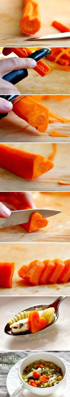 Je hebt enkel een worteltje nodig om je soep te pimpen !