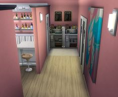 Empório Doces Sonhos - TodaSims Tiny House Layout, House Layouts, Sims 4 Restaurant, Casas The Sims Freeplay, Sims Free Play, Sims 4 House Design, Sims House Plans, Casas The Sims 4, Sims Building