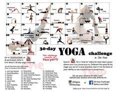 30 Day Challenge: Yoga