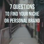 How to Find Your Niche or Personal Brand, Part 2