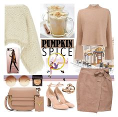 """""""Pumpkin Spice Style"""" by nicolevalents ❤ liked on Polyvore featuring interior, interiors, interior design, home, home decor, interior decorating, Sacai, Proenza Schouler, NLY Trend and Casetify"""