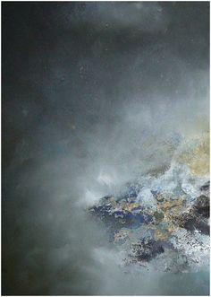 yama-bato:    By yama-bato  ©yama-bato, Imaginary Landscape  (detail)  Oil on paper