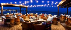 Casual fine dining favorite Hacienda y Cantina boasts one of the best locations in all of Los Cabos.