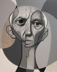 Belin street art artist art inspiration Picasso