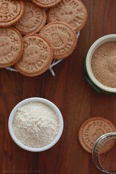 Rustykalne ciasteczka z dodatkiem mąki kasztanowej
