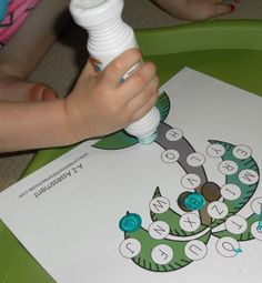 Chicka Chicka Boom Boom Letters activity sheets!