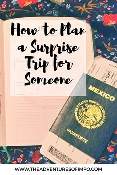 The Adventures of Impo   Planning and Trip Tips