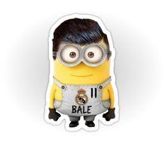 Minion de Gareth Bale del Real Madrid.