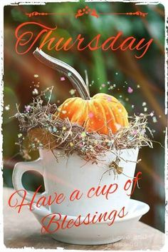 Good Morning Thursday Have A Cup Of Blessings good morning thursday thursday quotes good morning quotes happy thursday thursday quote thursday blessings happy thursday quote autumn thursday quotes Thursday Morning Quotes, Good Morning Thursday Images, Nice Good Morning Images, Happy Thursday Quotes, Thankful Thursday, Good Morning Good Night, Morning Wish, Tuesday Images, Morning Sayings