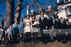 Robert F. Kennedy and Family