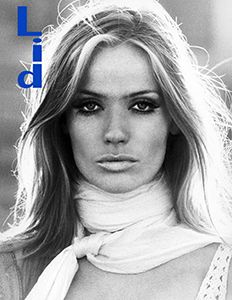 Veruschka by Franco Rubartelli on the cover of Lid Magazine #7.