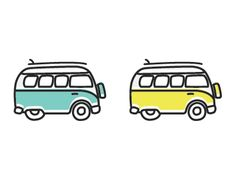 Van Wagon Icon  by Herson Rodriguez