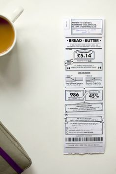 Icon #97 Rethink: redesigning the receipt by BERG Studio, via Flickr