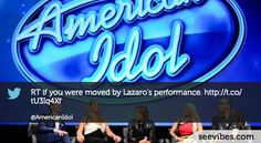 January 17th, 2013: Let's start for a new season of American Idol with new judges, and it's starting well, almost 3000 retweets last night in Canada - #Seevibes #TopRetweet #Twitter #AmericanIdol - https://twitter.com/AmericanIdol/status/292103297098199041