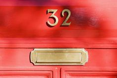 #1 Feng Shui Myth -The Lucky #Red #Door #Color