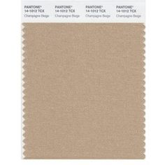 Pantone Smart 14-1012x Color Swatch Card, Champagne Beige