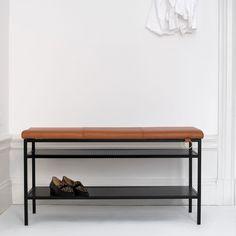 Nancy Benk, Sort/Cognac - Louise Hederström - Maze - RoyalDesign.no