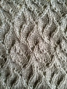 point de tricot : chinese lace