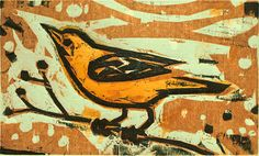 One of many great woodcuts by Kent Ambler, a master of creating perfect and beautiful shades of ink.