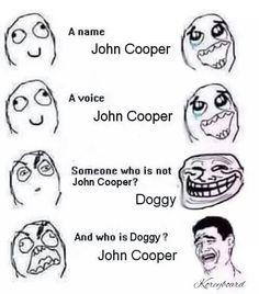 John Coooooper !!!!