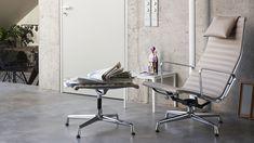 #eames @vitra Aluminium Group EA 124, Aluminium Group EA 125, Plate Table_web_inspiration