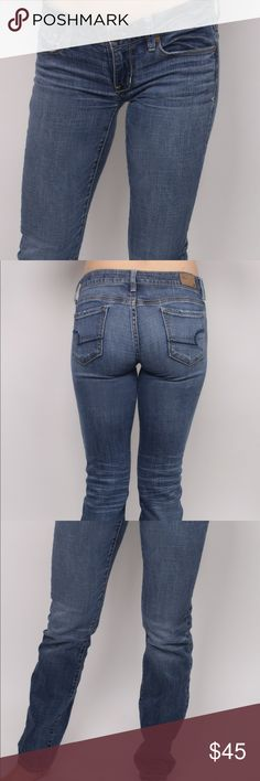 Faded wash, low rise denim jeans Faded wash, low rise, straight leg denim jeans. Denim that lasts for ages & will be a wardrobe basic for years to come. Form fitting, to accentuate your awesome behind! Perfect for pairing with ankle boots. Jeans Straight Leg