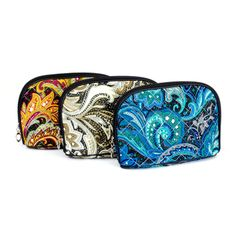 Paisley Patterned Cloth Cosmetic Bag | Danice Stores