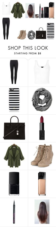"""Untitled #364"" by kalieh092 on Polyvore featuring Kate Spade, Old Navy, Yves Saint Laurent, NARS Cosmetics, Chanel, Maybelline and Barry M"