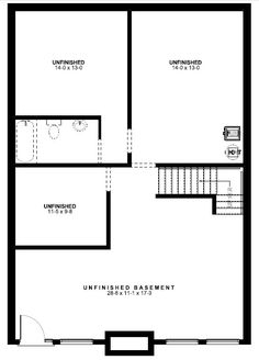 A-Frame House Plan 99961 Lower Level