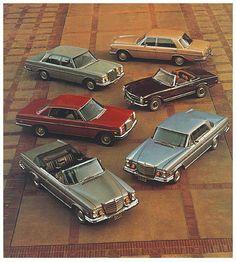 Mercedes Benz Stroke 8 family