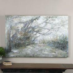 Uttermost Forest Lane Canvas Art - 60W x 40H in.   Hayneedle