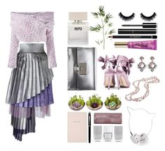 """daizy shely"" by art-gives-me-life ❤ liked on Polyvore featuring Daizy Shely, Bella Freud, Chanel, Pier 1 Imports, Givenchy, Proenza Schouler, Liam Fahy, Too Faced Cosmetics, DaVonna and Larkspur & Hawk"