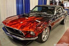 Now that's a paint job on a Mustang