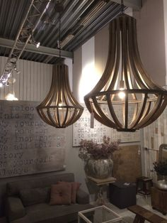 Kroonluchter Hout Lamp Shades, Lamp, Diy Hot Tub, Office Lighting, Lamp Light, Home Lighting, Copper Lighting, Pendant Lighting, Chandelier