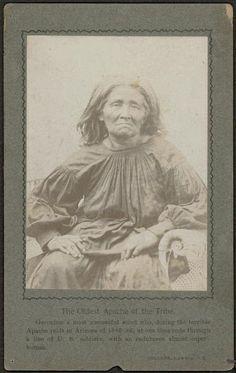 Apache woman - 1895