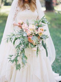 contax 645 | fuji 400h | film | rosa clara bridal | photo by www.romanceweddings.co.uk