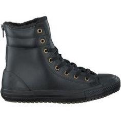 Zwarte Converse Korte laarzen CTAS HI-RISE BOOT Converse
