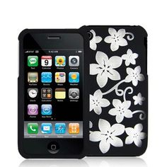 Laser Black Hawaii Clip On Crystal Case Compatible With Apple iPhone / Apple iPhone by eForCity Apple Iphone, Hawaii, Crystals, My Style, Black, Products, Black People, Crystal, Hawaiian Islands