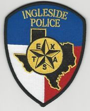 Ingleside Police Shoulder patch TEXAS
